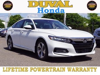 2018 Honda Accord EX-L FWD Sedan 4 Door I4 DOHC 16V Turbocharged Engine