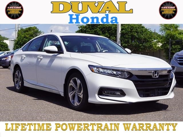 2018 Honda Accord EX-L I4 DOHC 16V Turbocharged Engine Sedan 4 Door FWD Automatic (CVT)