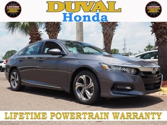 2018 Honda Accord EX-L 2.0T Sedan 4 Door I4 DOHC 16V Turbocharged Engine Automatic