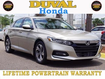 2018 Honda Accord EX-L Navi 2.0T FWD I4 DOHC 16V Turbocharged Engine Sedan Automatic