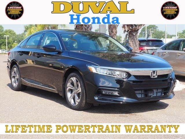 2018 Crystal Black Pearl Honda Accord EX-L Navi 2.0T FWD I4 DOHC 16V Turbocharged Engine Sedan 4 Door