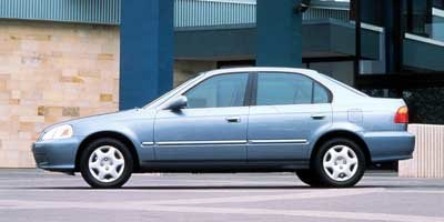 1999 Honda Civic LX 4 Door FWD Sedan Automatic 1.6L I4 SMPI Engine