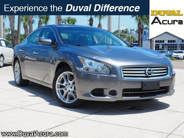 2014 Gun Metallic Nissan Maxima 3.5 S 4 Door Automatic (CVT) FWD Sedan 3.5L V6 DOHC 24V Engine