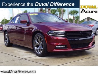 2017 Redline Red Tricoat Pearl Dodge Charger SXT Automatic 4 Door RWD