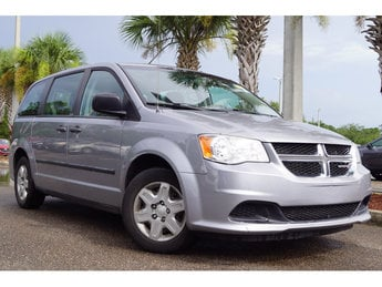 2013 Dodge Grand Caravan American Value Pkg Automatic 3.6L 6-Cylinder SMPI Flex Fuel DOHC Engine 4 Door Van FWD