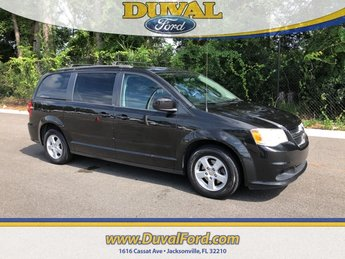 2013 Brilliant Black Crystal Pearl Dodge Grand Caravan SXT 4 Door Van Automatic