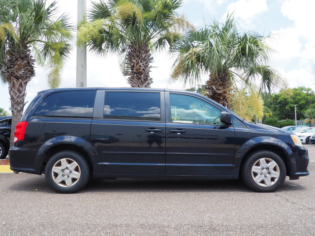 2011 Blackberry Pearl Dodge Grand Caravan Express FWD Automatic 3.6L V6 Flex Fuel 24V VVT Engine Van