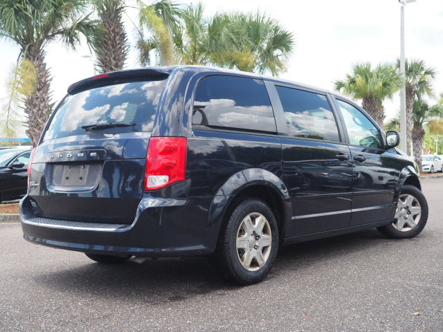 2011 Blackberry Pearl Dodge Grand Caravan Express Automatic 3.6L V6 Flex Fuel 24V VVT Engine 4 Door FWD Van