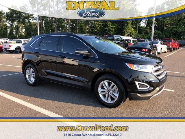 2017 Shadow Black Ford Edge SEL Automatic AWD SUV EcoBoost 2.0L I4 GTDi DOHC Turbocharged VCT Engine 4 Door