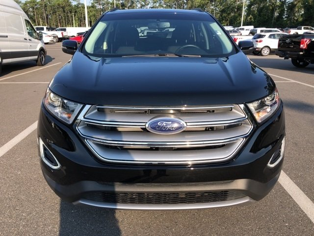 2017 Shadow Black Ford Edge SEL 4 Door EcoBoost 2.0L I4 GTDi DOHC Turbocharged VCT Engine AWD