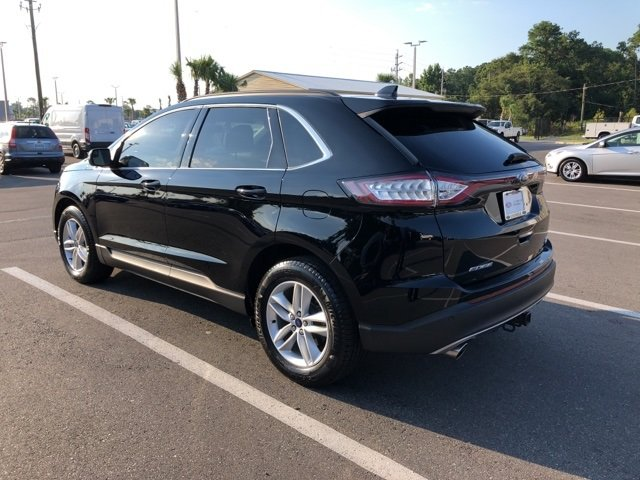 2017 Shadow Black Ford Edge SEL EcoBoost 2.0L I4 GTDi DOHC Turbocharged VCT Engine AWD SUV Automatic