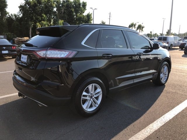 2017 Shadow Black Ford Edge SEL AWD Automatic 4 Door