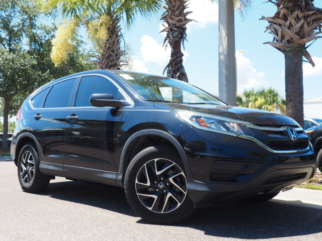 2016 Honda CR-V SE 4 Door Automatic (CVT) 2.4L I4 DOHC 16V i-VTEC Engine