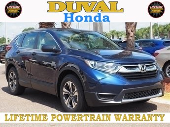 2018 Honda CR-V LX 2.4L I4 DOHC 16V i-VTEC Engine 4 Door Automatic (CVT) FWD