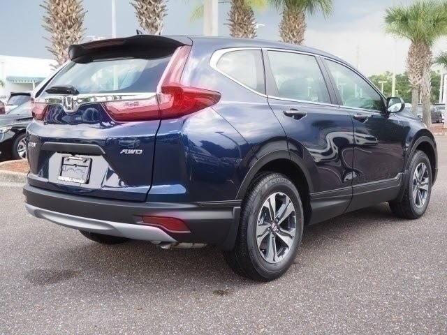2018 Honda CR-V LX 2.4L I4 DOHC 16V i-VTEC Engine AWD 4 Door SUV
