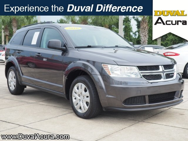 2016 Granite Crystal Metallic Clearcoat Dodge Journey SE 4 Door SUV 2.4L I4 DOHC 16V Dual VVT Engine FWD