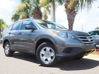 2014 Polished Metal Metallic Honda CR-V LX Automatic 4 Door 2.4L I4 DOHC 16V i-VTEC Engine FWD