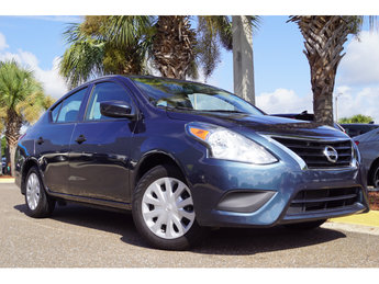 2016 Nissan Versa S Plus 1.6L I4 DOHC 16V Engine Automatic (CVT) Sedan FWD 4 Door