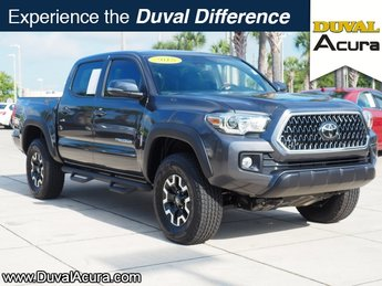 2018 Magnetic Gray Metallic Toyota Tacoma TRD Offroad V6 Automatic V6 Engine 4X4