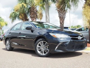 2015 Toyota Camry LE Automatic 2.5L I4 SMPI DOHC Engine 4 Door Sedan FWD