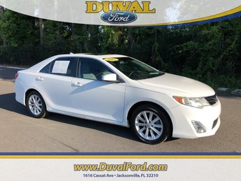 2012 Super White Toyota Camry XLE FWD Automatic 3.5L V6 SMPI DOHC Engine 4 Door Sedan