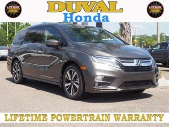 2018 Pacific Pewter Metallic Honda Odyssey Elite 3.5L V6 SOHC i-VTEC 24V Engine Automatic 4 Door