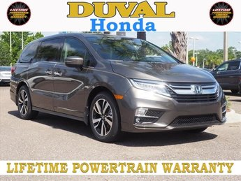 2018 Pacific Pewter Metallic Honda Odyssey Elite FWD Automatic 4 Door Van 3.5L V6 SOHC i-VTEC 24V Engine
