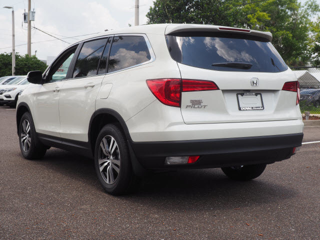 2018 White Diamond Pearl Honda Pilot EX-L SUV 3.5L V6 24V SOHC i-VTEC Engine 4 Door Automatic