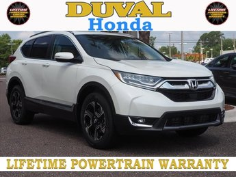 2018 Honda CR-V Touring 1.5L I4 DOHC 16V Engine AWD 4 Door Automatic (CVT) SUV