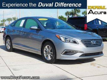 2015 Shale Gray Metallic Hyundai Sonata 2.4L SE Sedan 4 Door 2.4L I4 DGI DOHC 16V ULEV II 185hp Engine FWD