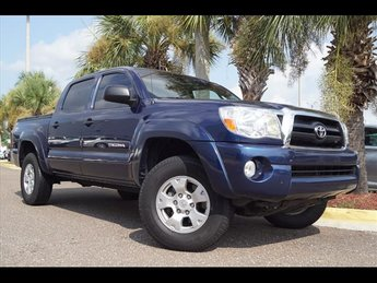2008 Speedway Blue Metallic Toyota Tacoma Base V6 4 Door 4X4 Truck 4.0L V6 SMPI DOHC Engine