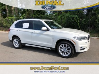 2014 Mineral White Metallic BMW X5 xDrive35i SUV 3.0L I6 DOHC 24V TwinPower Turbo Engine 4 Door