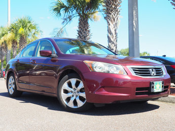 2008 Honda Accord EX-L 4 Door 2.4L I4 DOHC i-VTEC 16V Engine Automatic