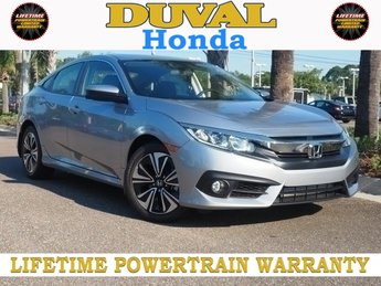 2018 Honda Civic EX-T Sedan FWD 4 Door Automatic (CVT)