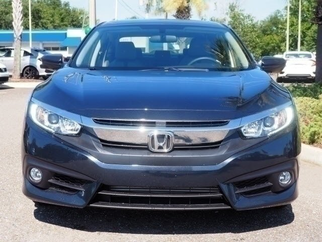 2018 Honda Civic EX-T Sedan 1.5L I-4 DI DOHC Turbocharged Engine FWD 4 Door