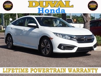 2018 Honda Civic EX-T 4 Door FWD 1.5L I-4 DI DOHC Turbocharged Engine