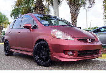 2007 Milano Red Honda Fit Sport FWD Automatic Hatchback