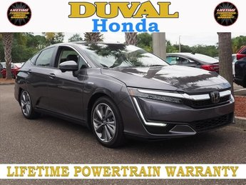 2018 Modern Steel Metallic Honda Clarity Plug-In Hybrid Base FWD 4 Door I4 Engine Automatic (CVT)