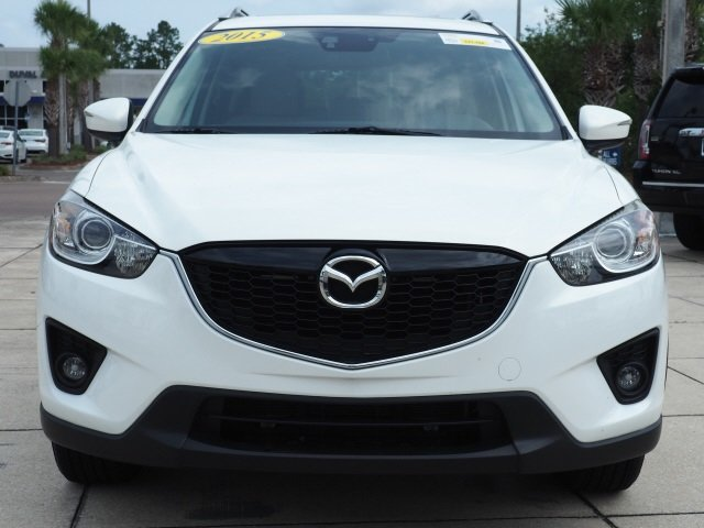 2015 Crystal White Mica Mazda CX-5 Grand Touring Automatic SUV AWD SKYACTIV® 2.5L 4-Cylinder DOHC 16V Engine 4 Door