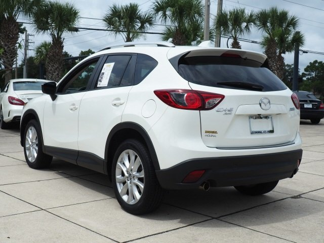 2015 Crystal White Mica Mazda CX-5 Grand Touring SKYACTIV® 2.5L 4-Cylinder DOHC 16V Engine AWD SUV 4 Door Automatic