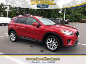 2015 Soul Red Mazda CX-5 Grand Touring SUV Automatic AWD