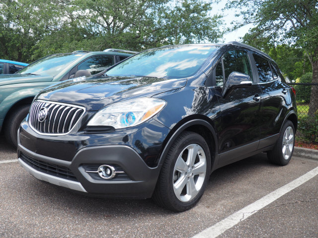 2015 Buick Encore Convenience SUV 4 Door Automatic FWD ECOTEC 1.4L I4 SMPI DOHC Turbocharged VVT Engine