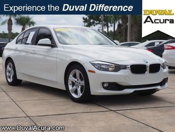 2015 Alpine White BMW 3 Series 328i Automatic Sedan 4 Door 2.0L 4-Cylinder DOHC 16V Turbocharged Engine RWD