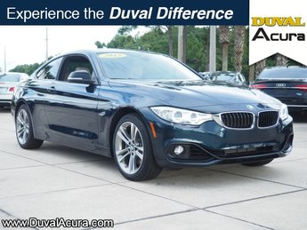 2015 BMW 4 Series 435i xDrive 2 Door 3.0L 6-Cylinder DOHC 24V Turbocharged Engine Automatic Coupe
