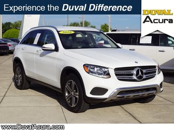 2016 Polar White Mercedes-Benz GLC GLC 300 2.0L Turbocharged Engine SUV RWD 4 Door Automatic