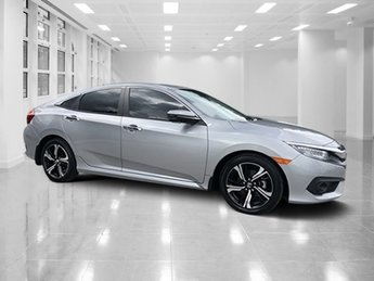 2017 Gray Honda Civic Sedan Touring 4 Door Sedan FWD Intercooled Turbo Regular Unleaded I-4 1.5 L/91 Engine