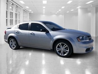 2014 Billet Silver Metallic Clearcoat Dodge Avenger SE 4 Door Regular Unleaded I-4 2.4 L/144 Engine Automatic FWD Sedan