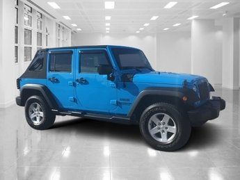 2017 Chief Clearcoat Jeep Wrangler Unlimited Sport SUV Regular Unleaded V-6 3.6 L/220 Engine Automatic