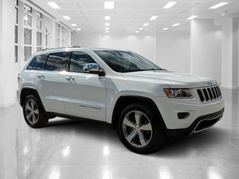 2014 Bright White Clearcoat Jeep Grand Cherokee Limited Regular Unleaded V-6 3.6 L/220 Engine 4 Door Automatic