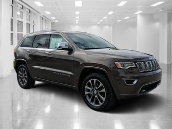 2017 Jeep Grand Cherokee Overland Regular Unleaded V-8 5.7 L/345 Engine Automatic 4 Door 4X4 SUV